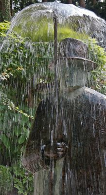 folon sous la pluie