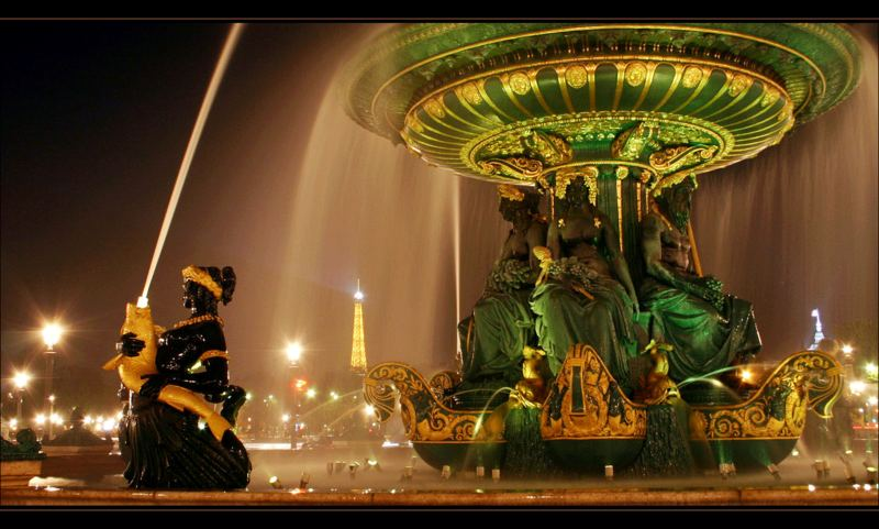 Fontain - Place de la Concorde - Paris