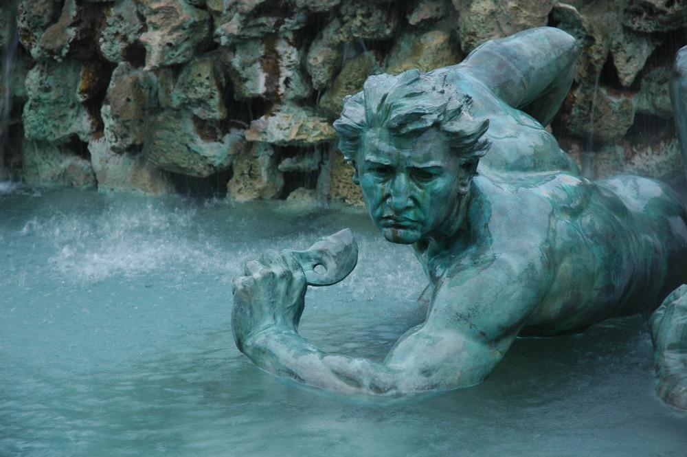 Fontaine à Bordeaux