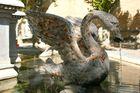 Fontaine à cygne
