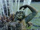 Fontaine au château de Versailles