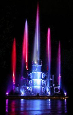 Fontaine bleu
