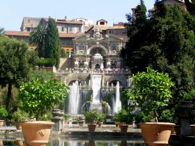 Fontaine de la Villa d'Este (Tivoli - Italie)