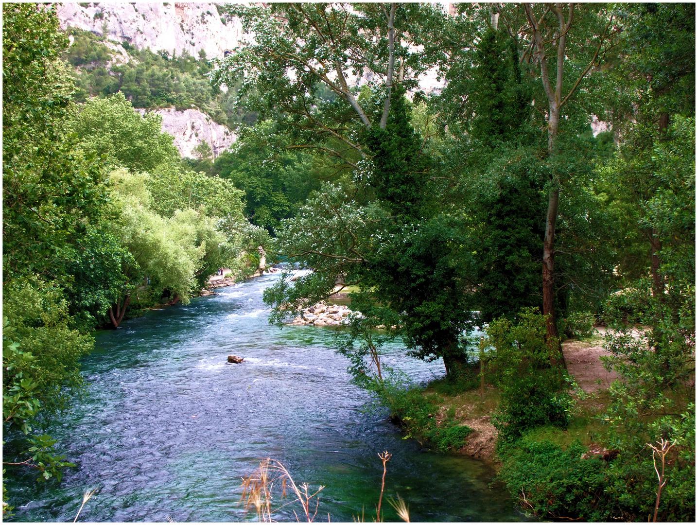 Fontaine-de-Vaucluse. 1