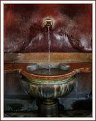 fontaine d'eau d'EVIAN