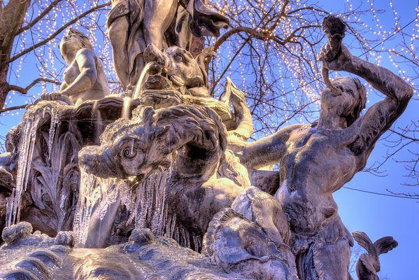 Fontaine d'Emphytrite Nancy Place Stanislas