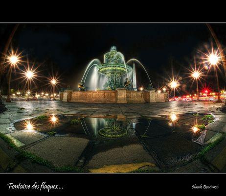 Fontaine des flaques....