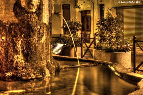 fontaine st Barbe Auriol