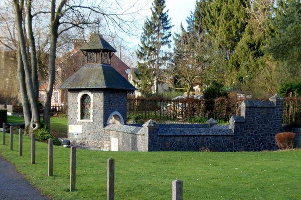 Fontaine Ste Ragenufle (!) à Opprebais - Brabant Wallon -