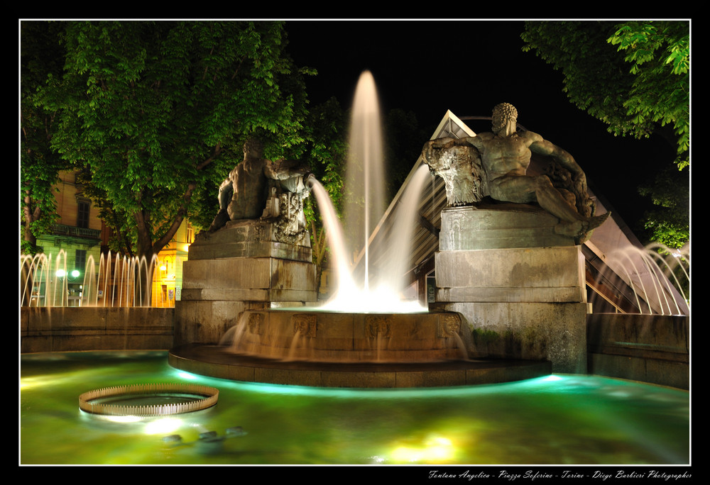 Fontana Angelica - Torino