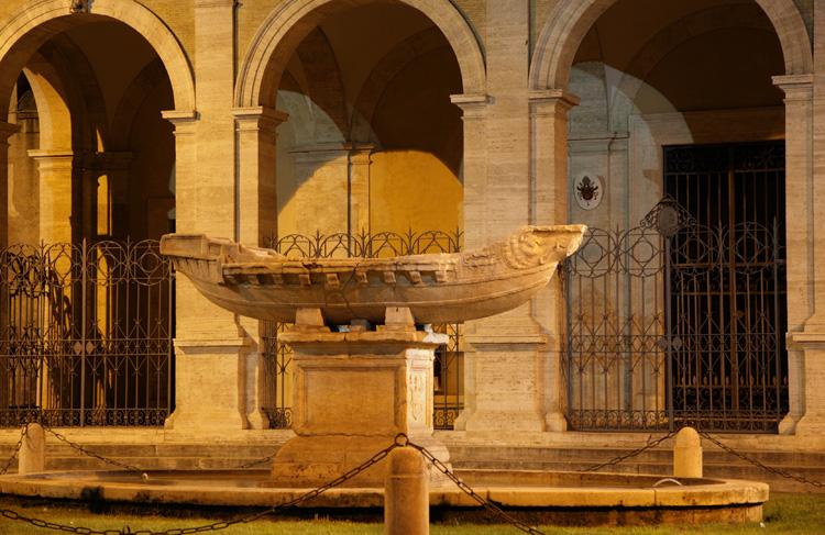 Fontana della Navicella, Roma