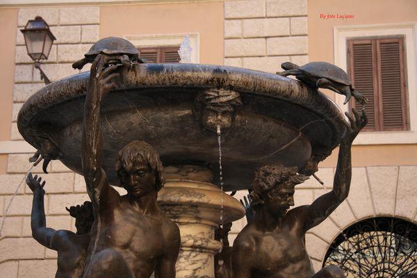 Fontana delle tartarughe (particolare)