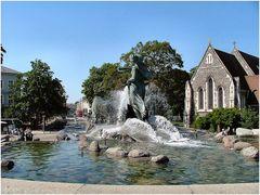 Fontana  di Gefion.