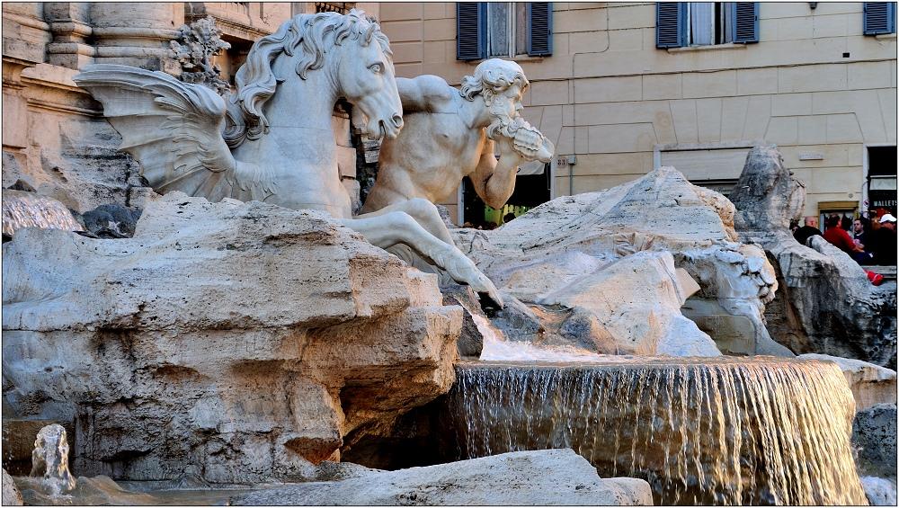 ... Fontana di Trevi ...