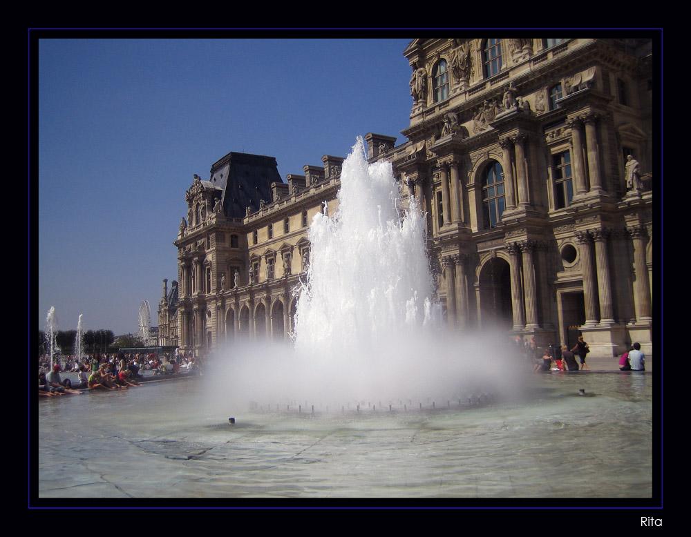 fontana Le Louvre