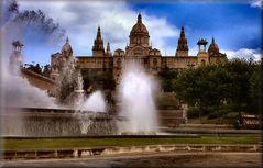 Fontana Monumentale a Montjuich.Barcelona.
