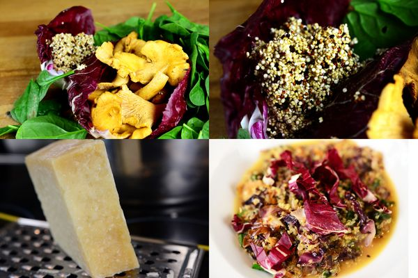 Food-Blog: Quinoa-Risotto mit Dreierlei