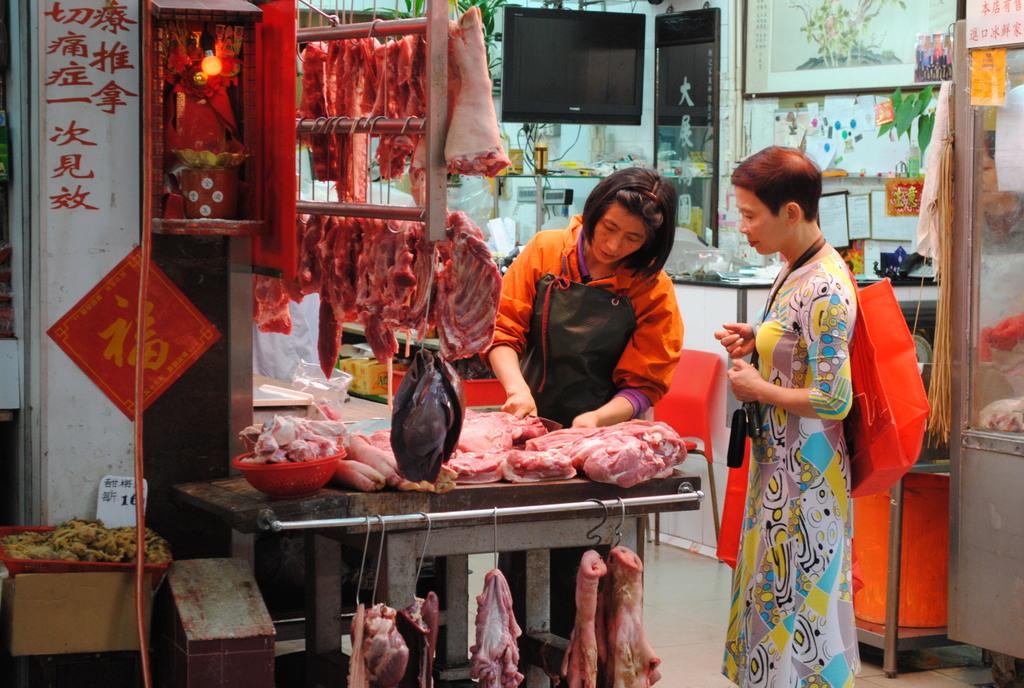 Foodmarket in Hongkong