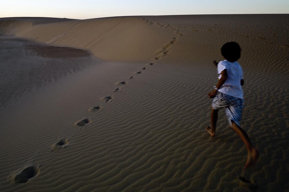 Footsteps, Fuerteventura, 2012