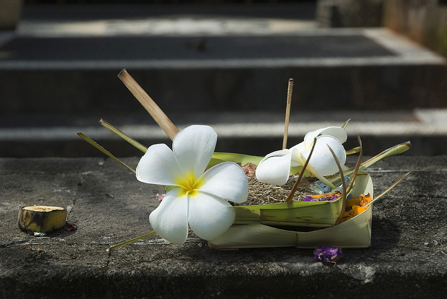 ... for the gods of Bali