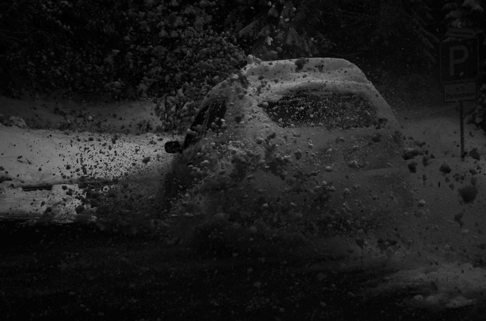 Ford Fiesta im Schnee