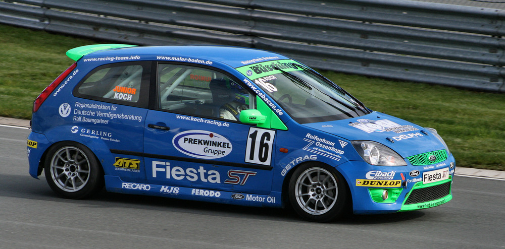 Ford Fiesta ST Cup Sachsenring