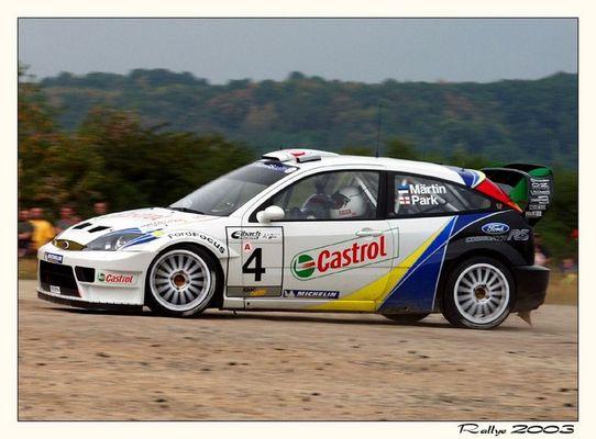 Ford Focus WRC 03