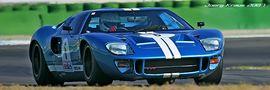 Ford GT40 - Jim CLark Revival Hockenheim 2007 von pixxart