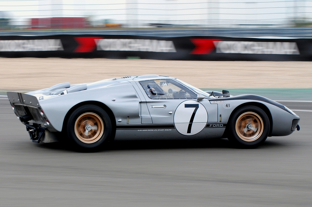 Ford GT40 MkII 1966 24h Le Mans Alan Mann Racing #7 Hill / Muir