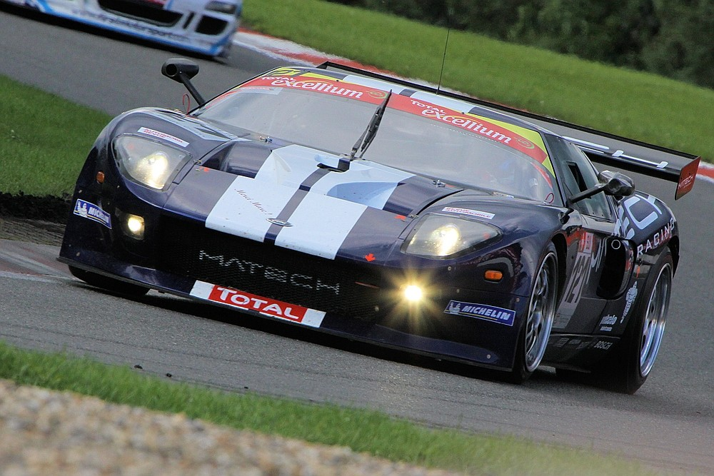 Ford GTvom Matech GT Racing Team in Les Combes