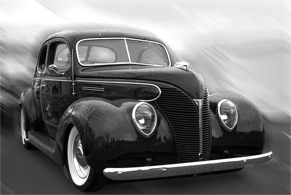 ford hotrod superdeluxe 1938 - fuer diese zeit eines der schoensten autos der welt