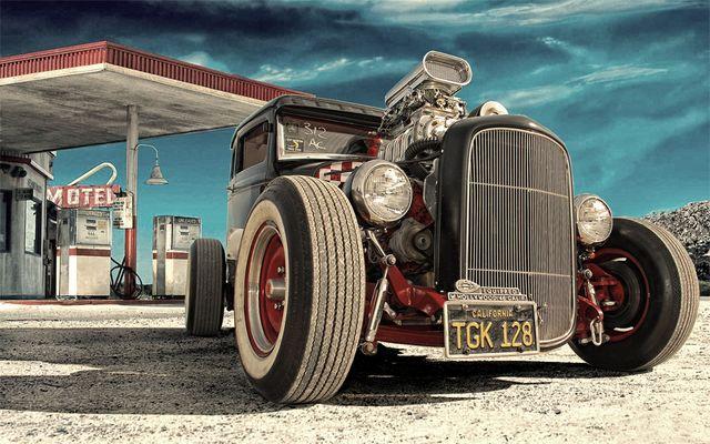 Ford Model A Fire Window Hot Road Baujahr 1931