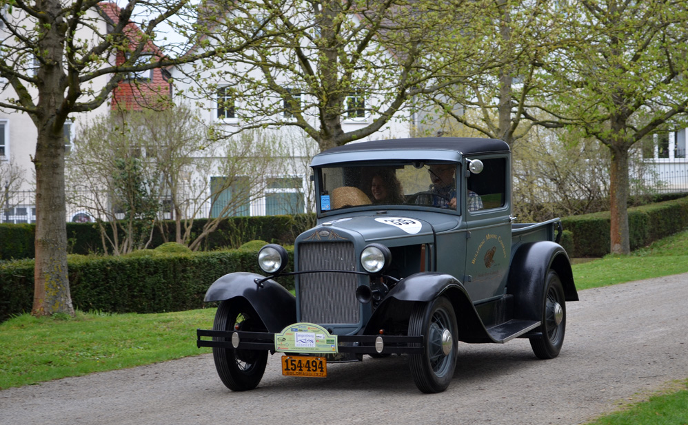 Ford Modell A Closed Cap Pick Up Bj. 1931