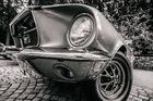 Ford Mustang aus der Froschperspektive