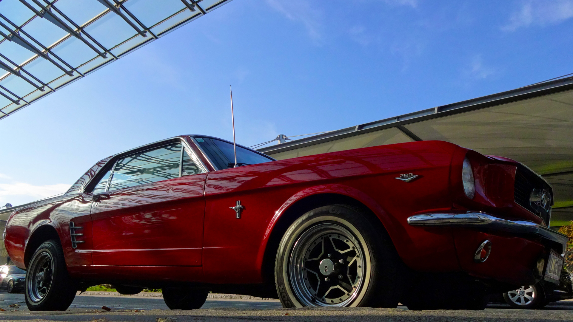 FORD Mustang Coupe 289, BJ 1965