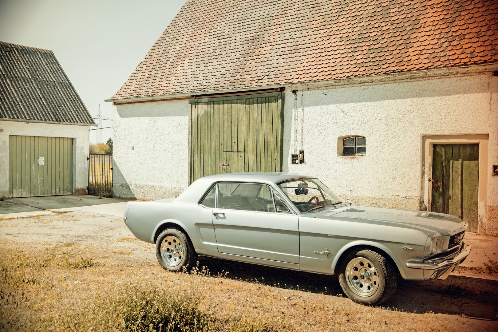 Ford Mustang - tolle Stimmung