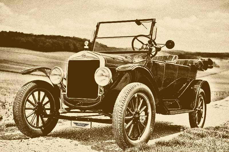 Ford T 1917