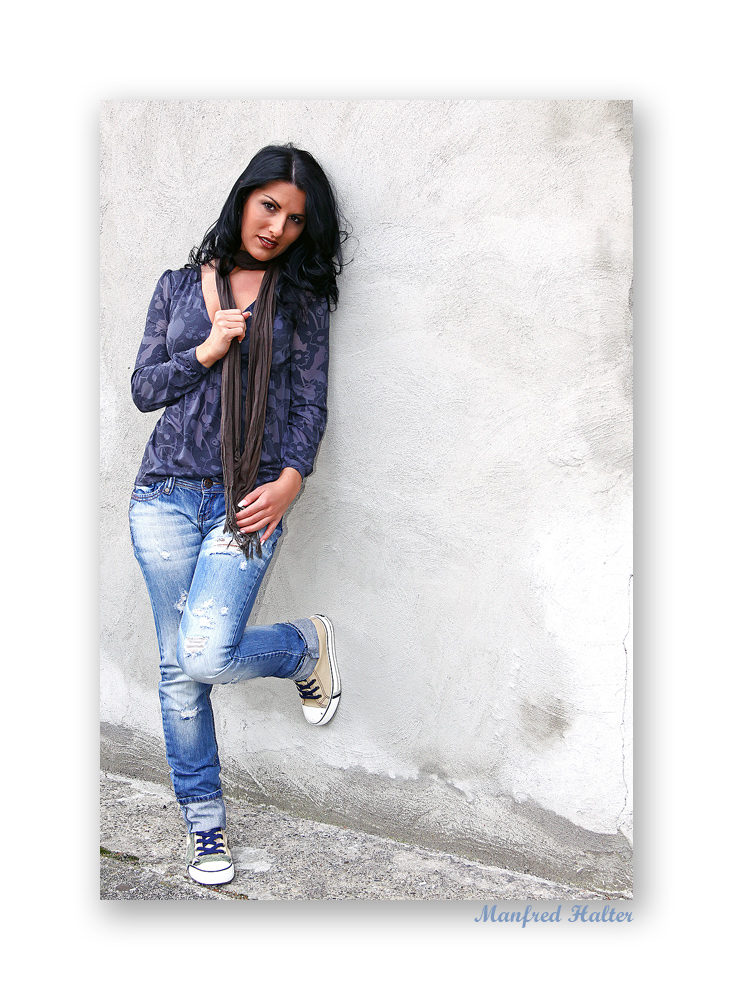 forever in blue jeans . . .