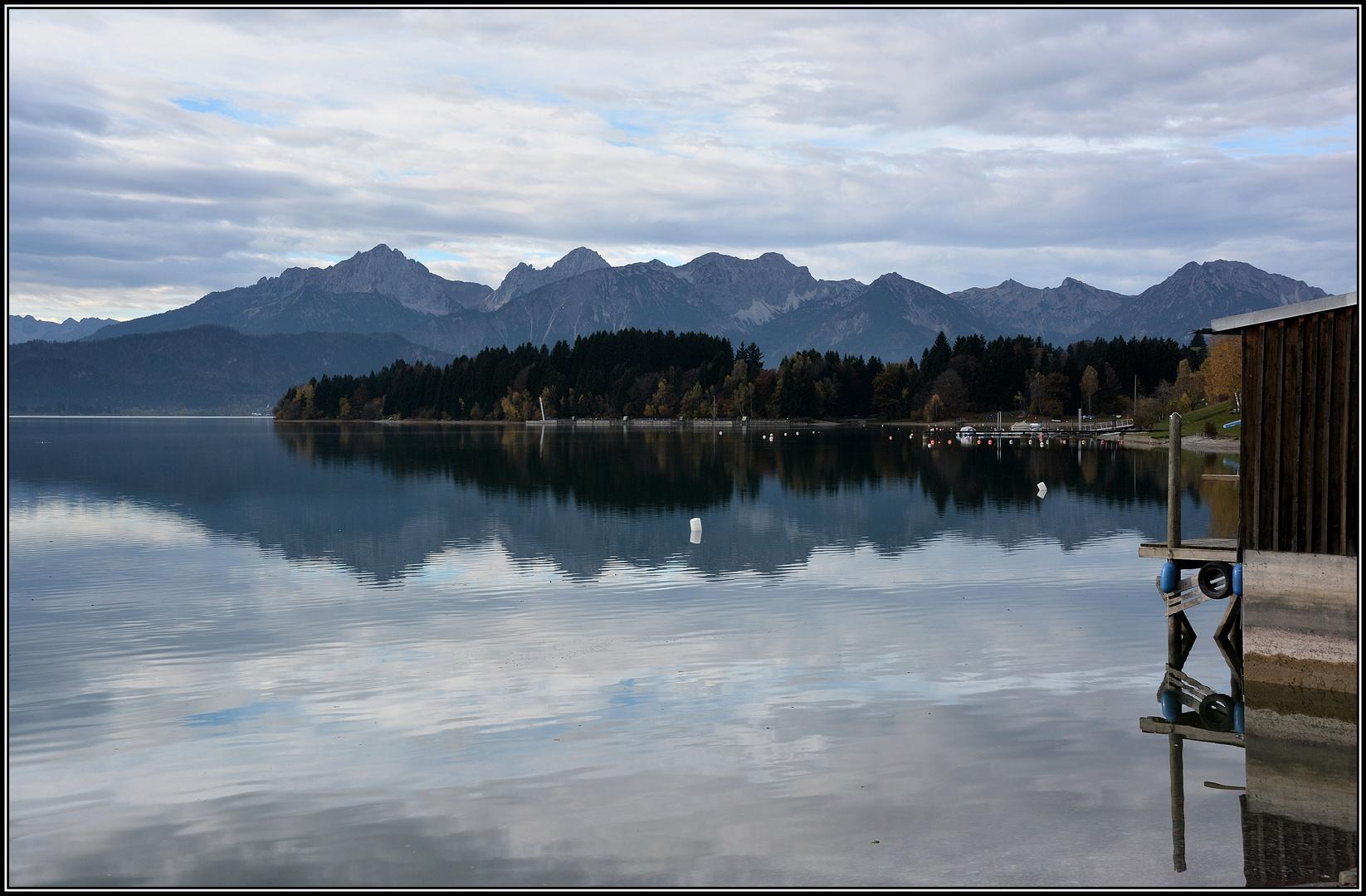 Forggensee bei Dietringen, Allgäu, Ostallgäu ( 02 )