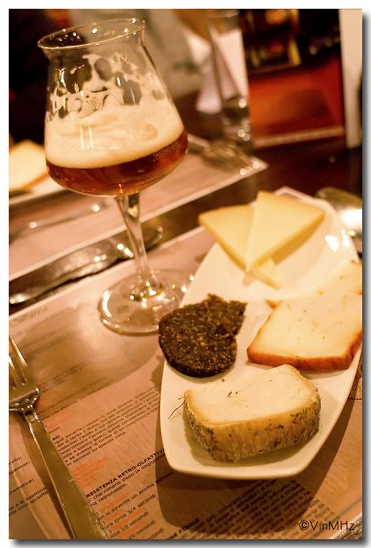 ... formaggi e birra