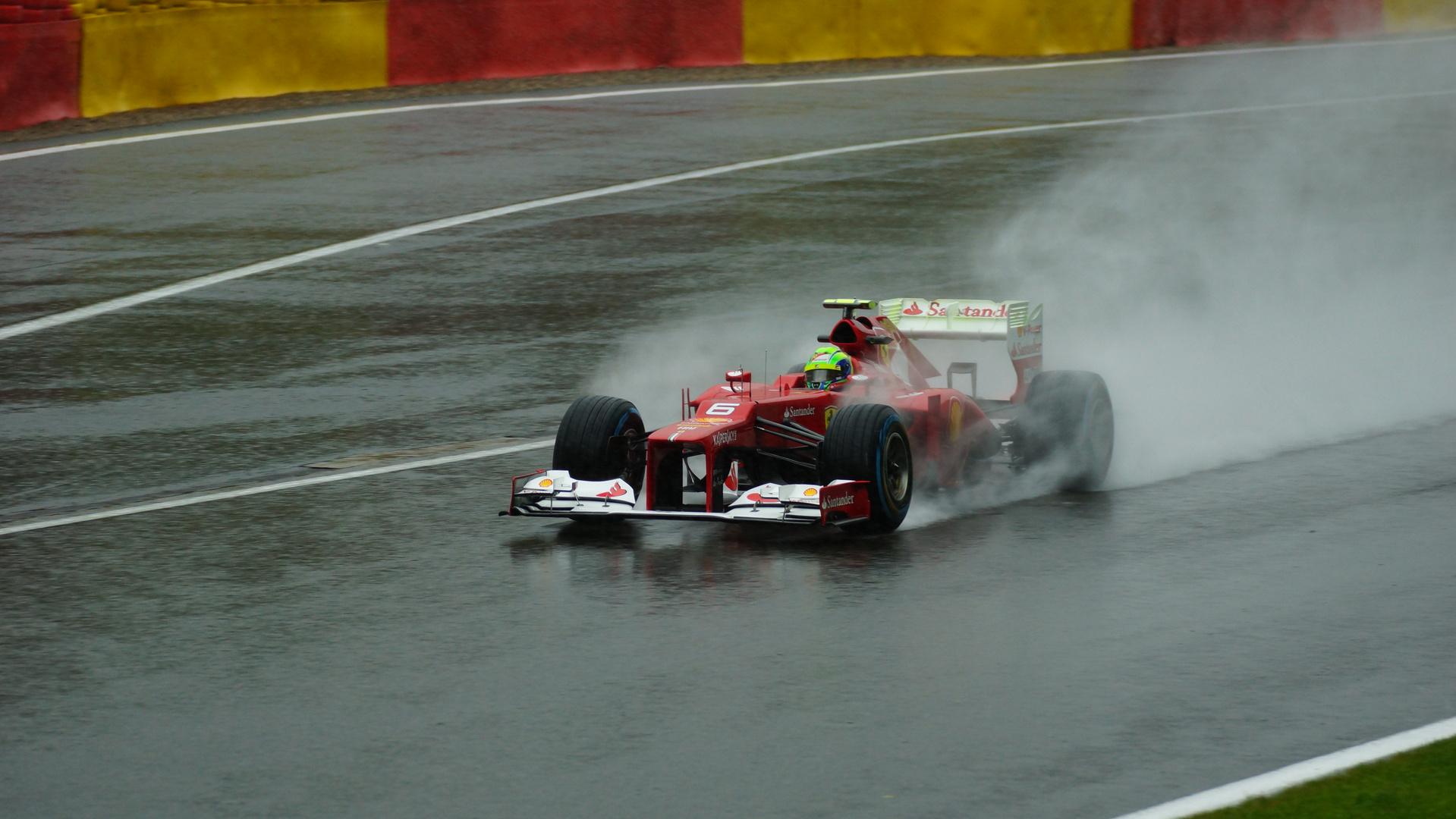 Formel 1 Freitagstraining Spa 2012