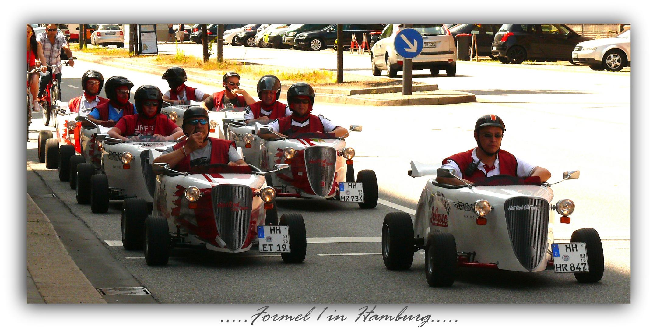 ....Formel 1 in Hamburg...