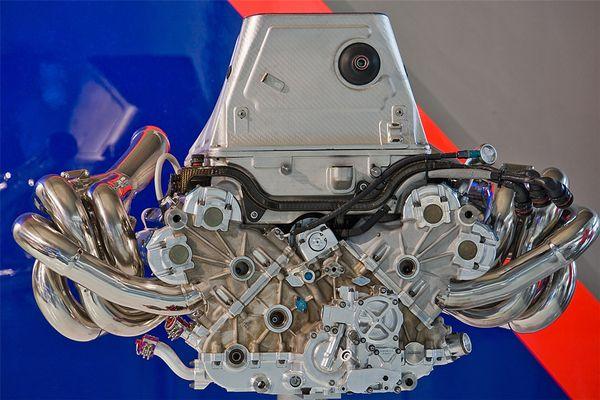 Formel 1 Motor 10 Zylinder