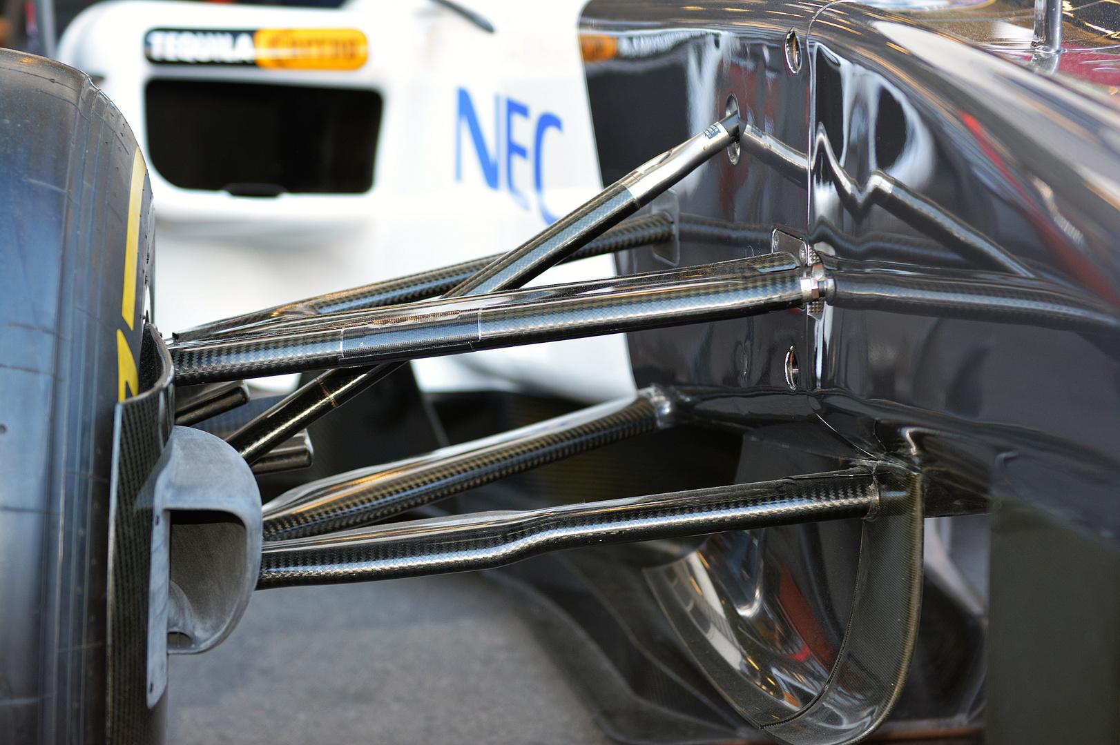 Formel 1 Radaufhängung