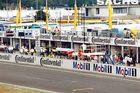 Formel-1-Startanlage am Hockenheimring