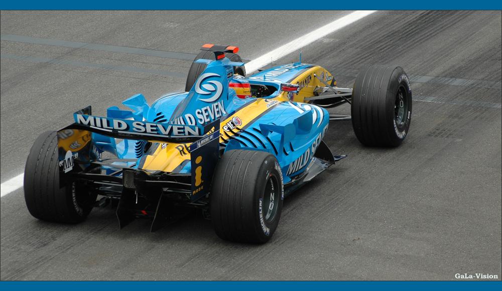 Formel 1 - und ab geht die Post