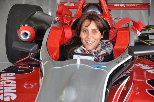 Formel 3 Dallara. F399 mit Angelique Germann