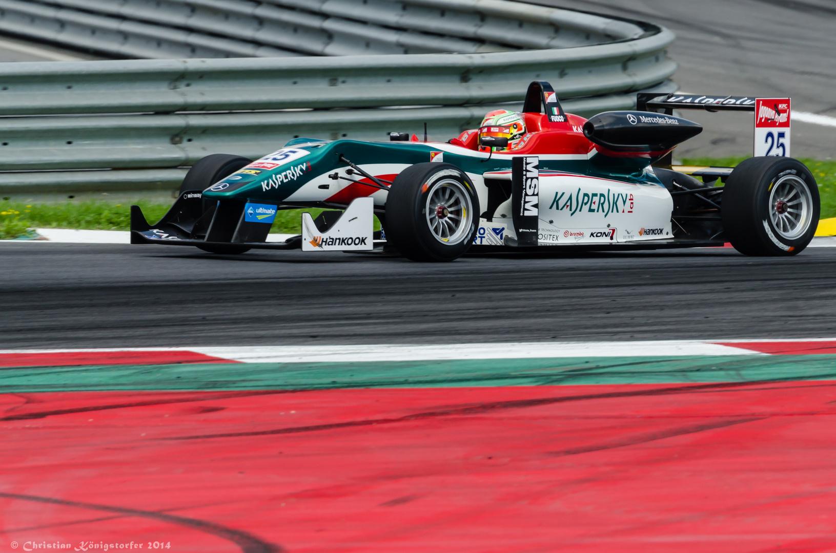 Formel 3 - Fuoco - Spielberg 2014