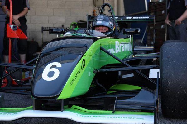 Formel 3 in Dion mit CR Racing Team Pirmasens
