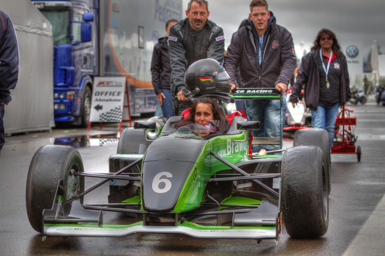"""""""Formel Frau""""  DTM 2012 Lausitzring"""